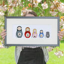Deluxe Russian Doll Family Personalised Print additional 1