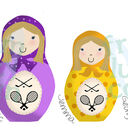 Deluxe Russian Doll Family Personalised Print additional 17