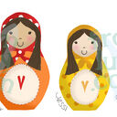 Russian Doll Family Personalised Print additional 8
