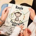 'The Day You Were Born' Personalised New Baby Book additional 4