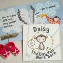 'The Day You Were Born' Personalised New Baby Book additional 3