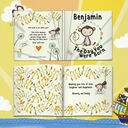 'The Day You Were Born' Personalised New Baby Book additional 5