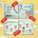 'The Day You Were Born' Personalised New Baby Book additional 6