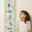 Personalised Illustrated Monkey Height Chart additional 2