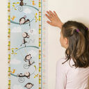 Personalised Illustrated Monkey Height Chart additional 3