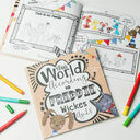 'The World According To...' Personalised Child's Journal additional 1
