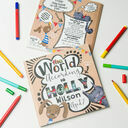 'The World According To...' Personalised Child's Journal additional 2