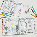 'The World According To...' Personalised Child's Journal additional 3