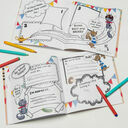 'The World According To...' Personalised Child's Journal additional 5
