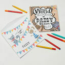 'The World According To...' Personalised Child's Journal additional 7