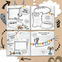 'The World According To...' Personalised Child's Journal additional 6