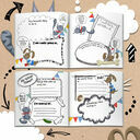 'The World According To...' Personalised Child's Journal additional 9