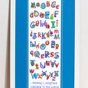 Animal Alphabet Personalised Print additional 4