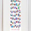 Animal Alphabet Personalised Print additional 9