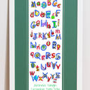 Animal Alphabet Personalised Print additional 6