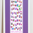 Animal Alphabet Personalised Print additional 7