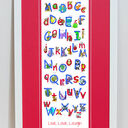 Animal Alphabet Personalised Print additional 10