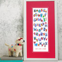 Animal Alphabet Personalised Print additional 8