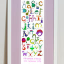Dinosaur Alphabet Personalised Print additional 9