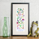 Dinosaur Alphabet Personalised Print additional 2