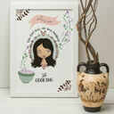 Personalised Illustrated 'This Girl' Print For Her additional 9