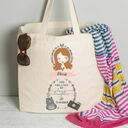 Personalised Illustrated 'This Girl' Tote Bag For Teenagers additional 8