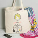 Personalised Illustrated 'This Girl' Tote Bag For Mum additional 15