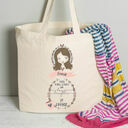 Personalised Illustrated 'This Girl' Tote Bag For Her additional 6