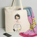 Personalised Illustrated 'This Girl' Tote Bag For Her additional 9