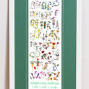 Fairy Alphabet Personalised Print additional 12