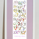 Fairy Alphabet Personalised Print additional 13