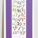 Fairy Alphabet Personalised Print additional 7