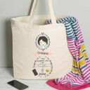 Personalised Illustrated 'This Girl' Tote Bag For Grandma additional 4