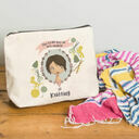 Personalised Illustrated 'This Girl' Make Up Bag For Grandma additional 5