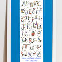 Pirate Alphabet Personalised Print additional 4