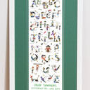 Pirate Alphabet Personalised Print additional 7