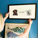 Bespoke Personalised Illustrated Portrait of Your Dog additional 2
