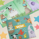 'Wow You're Four' 4th Birthday Children's Book additional 4