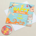 'Wow You're' Themed Birthday Card and Personalised Badge additional 2