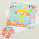 'Wow You're' Themed Birthday Card and Personalised Badge additional 5