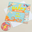 'Wow You're' Themed Birthday Card and Personalised Badge additional 6