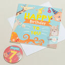 'Wow You're' Themed Birthday Card and Personalised Badge additional 7