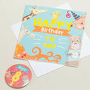 'Wow You're' Themed Birthday Card and Personalised Badge additional 8