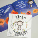 'The Day You Were Born' Personalised New Baby Book - Hardback additional 1
