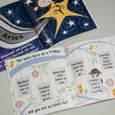 'The Day You Were Born' Personalised New Baby Book - Hardback additional 4