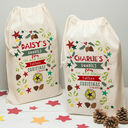 Personalised Children's Christmas Sack additional 1