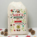 Personalised Children's Christmas Sack additional 2