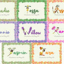 Fairy Initial Personalised Print additional 6