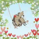 Hedgehugs 'Tree Swing' Framed Print additional 2