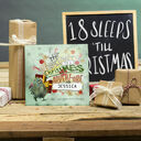 Personalised 'Christmess Advent-ure!' Christmas Advent Book additional 10